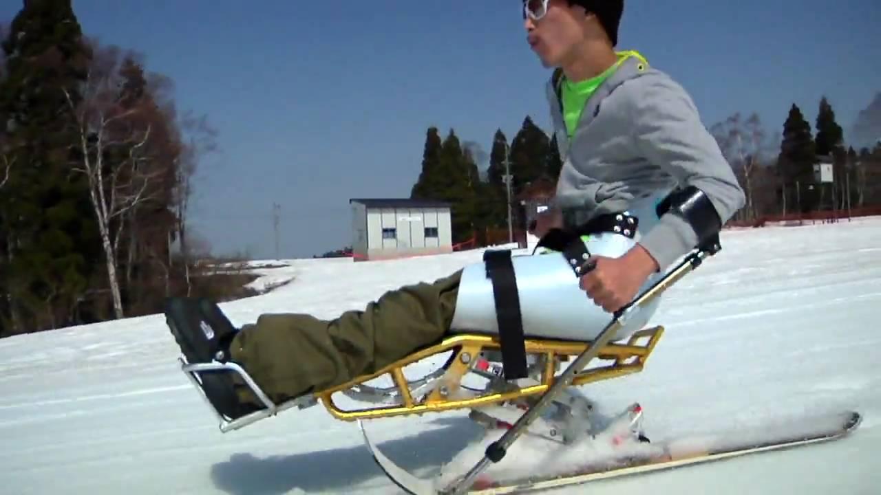 フリースタイルチェアスキーヤー水島敬之(タカフィン)の平昌への挑戦!