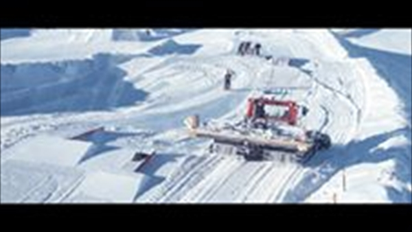NZカードローナスキー場に3連ジャンプがオープン!