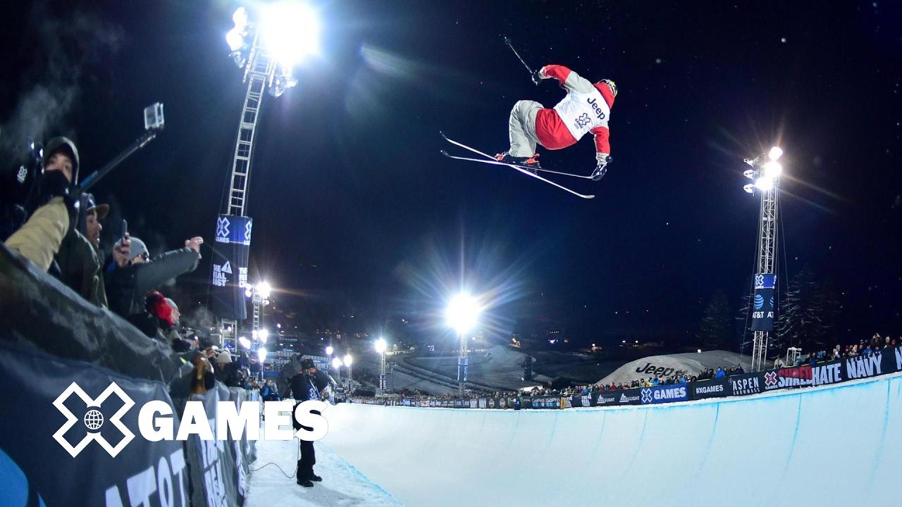 Xgames 2017 aspen ski SuperPipe のリザルト&上位選手の動画を紹介