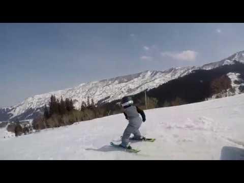 5歳のフリースキーヤーでアグレッシブインラインスケーターの幼児、ゆうと君!