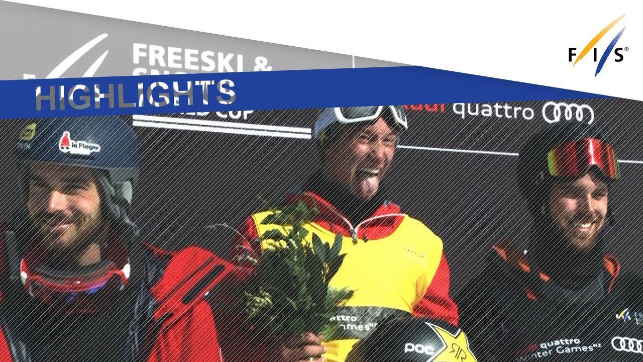 ワールドカップ初戦 ハーフパイプ アレックス・フェレイラが優勝