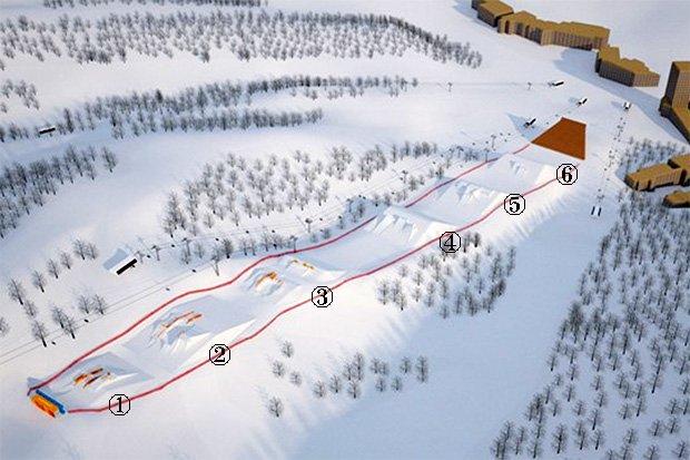 FISが平昌オリンピックのスロープスタイルコースを発表!
