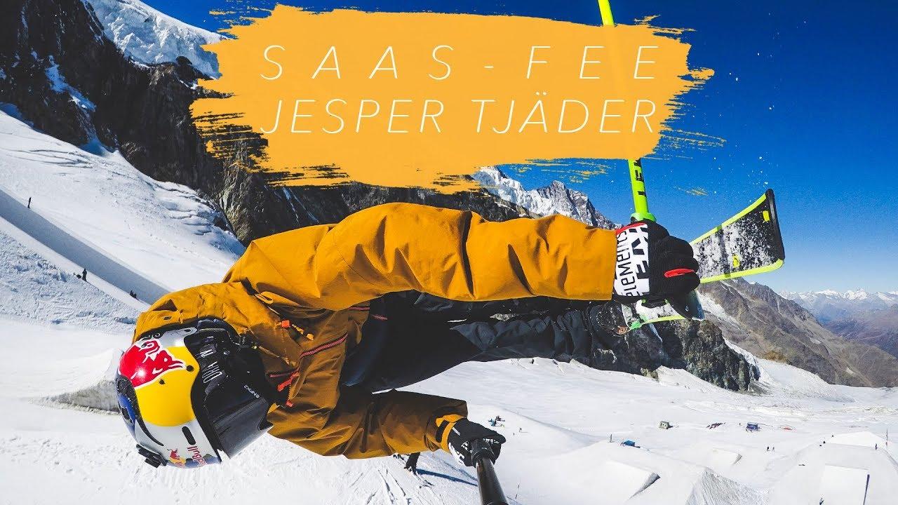 Jesper Tjäderがサースフェーに登場!