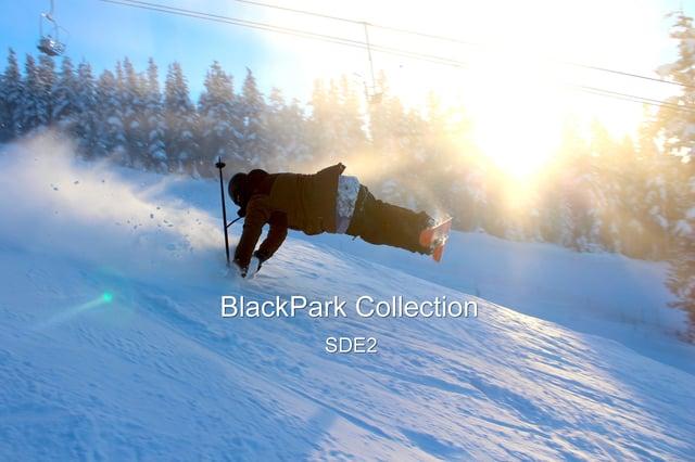 ウィスラーで撮影された「BlackPark Collection」