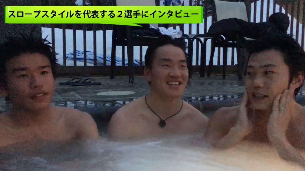 山本泰成&佐々木玄にインタビューinジャグジー!!