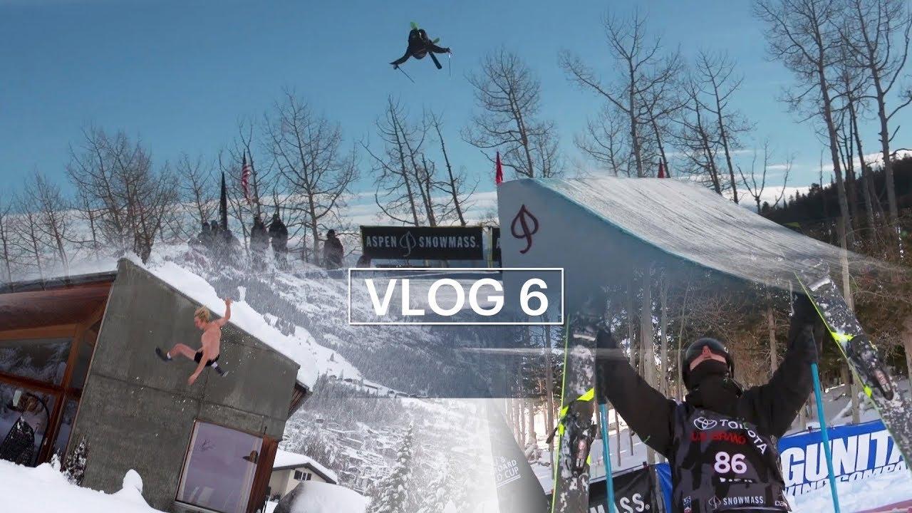 アンドリ・ラゲットリがVlog6を公開!スノーマスのワールドカップ編!!