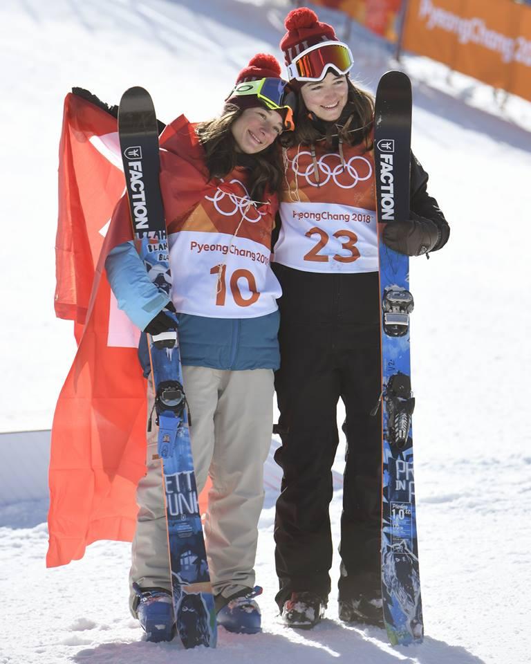 平昌オリンピック フリースタイルスキー女子スロープスタイル Sarah HOEFFLINが金メダル獲得!!