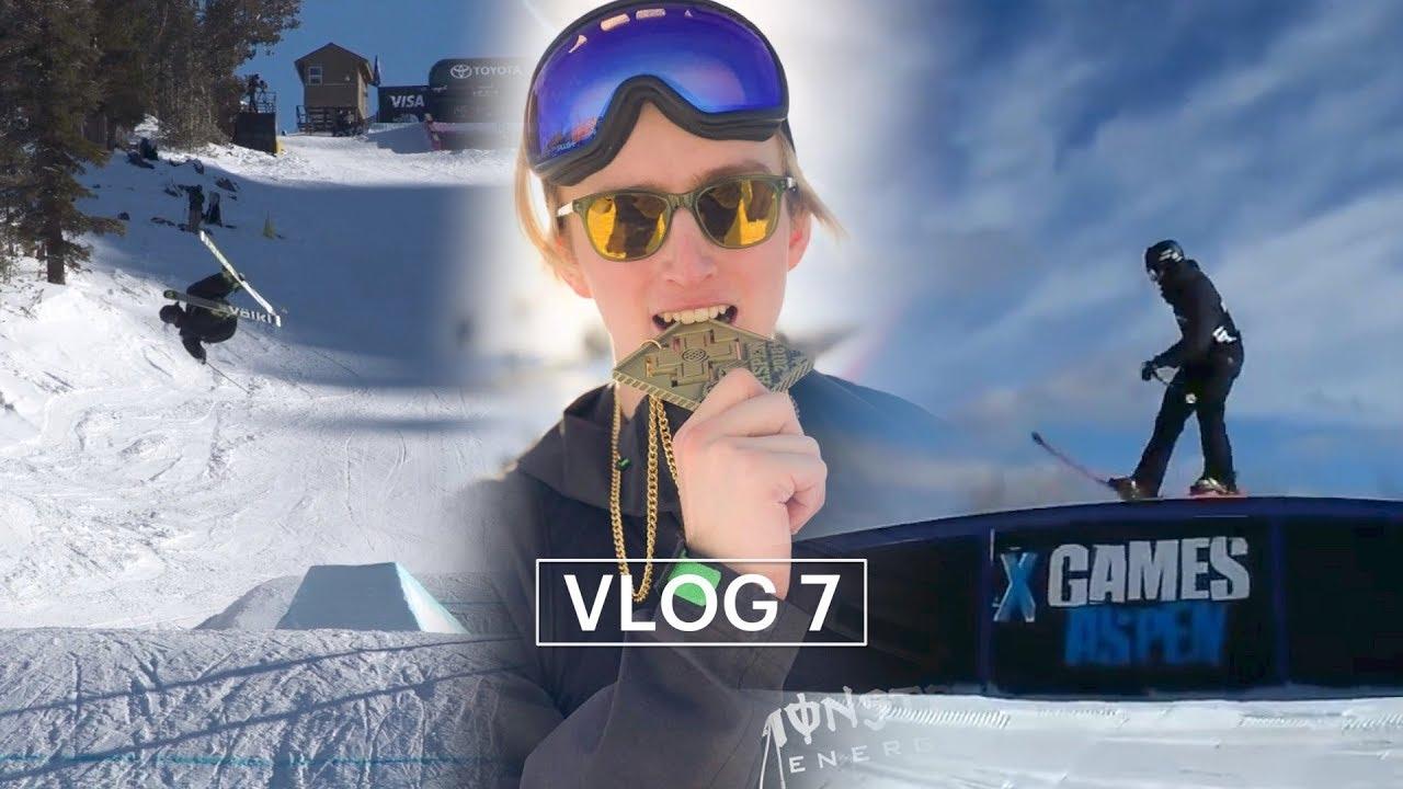 アンドリ・ラゲットリがVlog7を公開!ワールドカップからX Gamesまで!