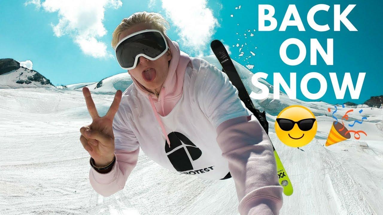 アンドリ・ラゲットリがシーズンイン!! Vlog21を公開!!