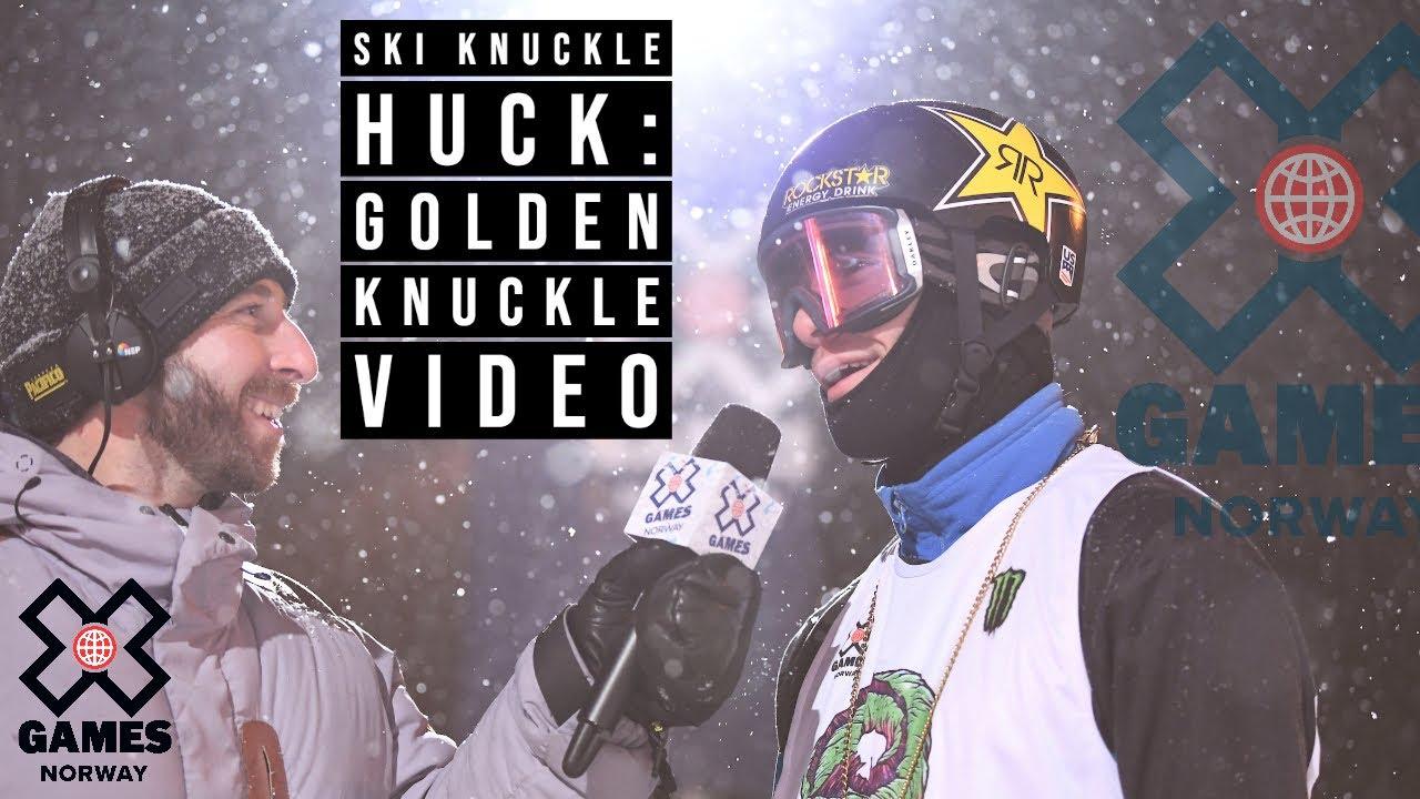 X Games ノルウェー! スキー ナックルハックはアレックス・ホールが優勝!!